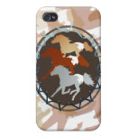 Horse and Shield  iPhone 4/4S Cases
