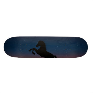 Horse Animal Nature 20 Cm Skateboard Deck