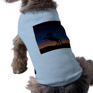 Horse Animal Nature Sleeveless Dog Shirt