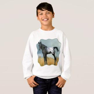 Horse - Appaloosa Colt Kids Sweatshirt