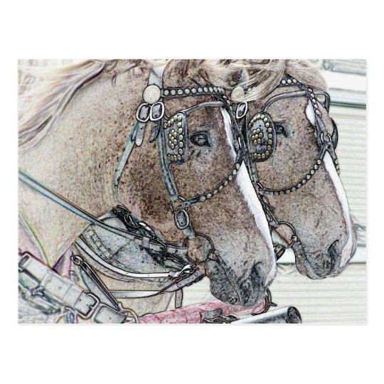 Horse Art 2010 2 Postcard