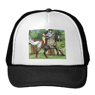 Horse Art APPALOOSA Eventing Cap
