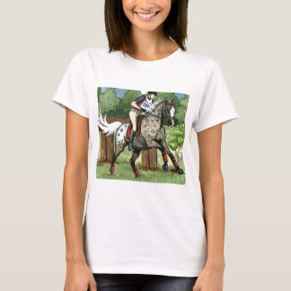 Horse Art APPALOOSA Eventing T-Shirt