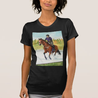 HORSE ART Cross-Country Thru Water T-shirt