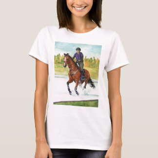 HORSE ART Cross-Country Thru Water T-Shirt