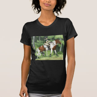 HORSE ART Cross-Country Up the Steps Eventing Tshirts