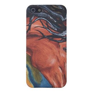 Horse Art Equestrian IPhone Case iPhone 5 Cover