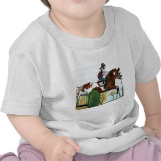 Horse Art Flying Paint Horse XC Tee Shirt
