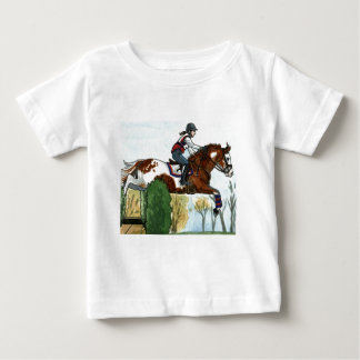 Horse Art Flying Paint Horse XC Tshirt