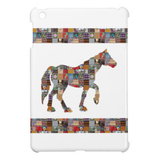 HORSE Artistic Collection Patches FUN NVN477 gifts Case For The iPad Mini