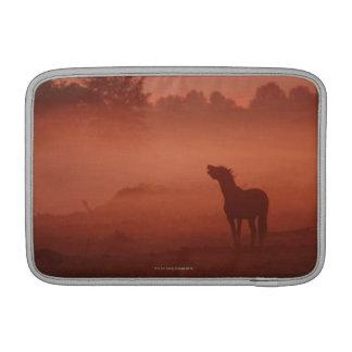 Horse at sunrise sleeve for MacBook air