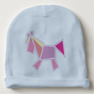horse baby beanie