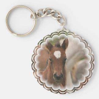 Horse Baby Keychain