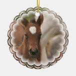 Horse Baby Ornament