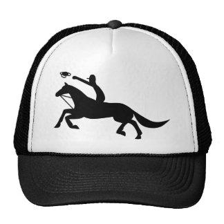 horse ball icon cap