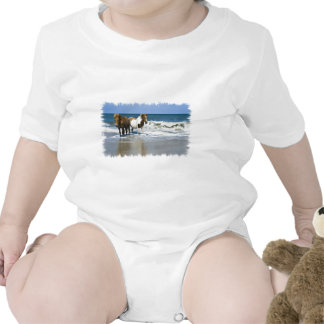 Horse Beach Baby T-Shirt