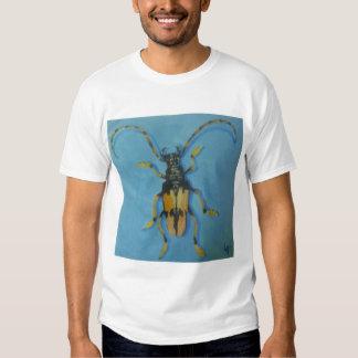 Horse Bean Longhorn T Shirts