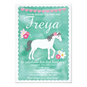 Horse birthday invitations zazzle horse birthday invitation pony party invitation filmwisefo