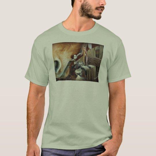 Horse Bit & Strap on Horse T-Shirt