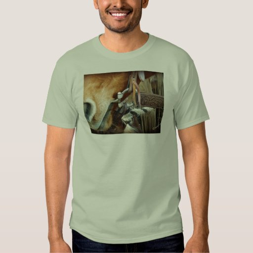 Horse Bit & Strap on Horse Tshirt
