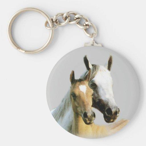 Horse Buddies Keychain