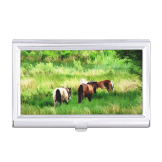HORSE BUSINESS CARD HOLDER