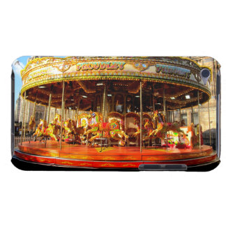 Horse Carousel Amusement park I pop touch case Barely There iPod Case