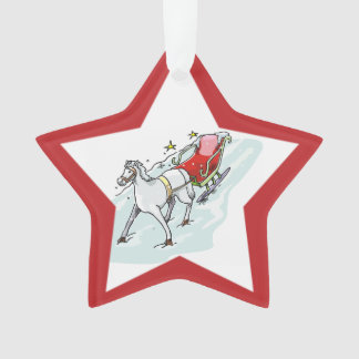 Horse & Carriage - Ornament