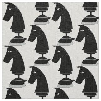 Horse chess fabric
