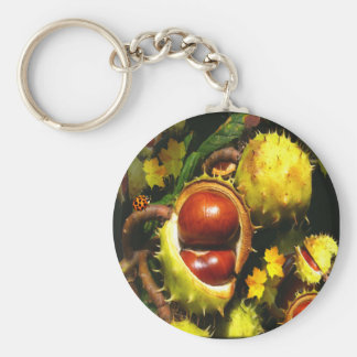HORSE -CHESTNUTS ~ Keychain