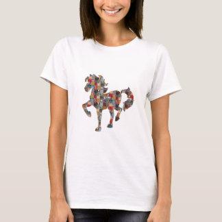 HORSE cheval caballo Pferd حصان лошадь fun nvn554 T-Shirt