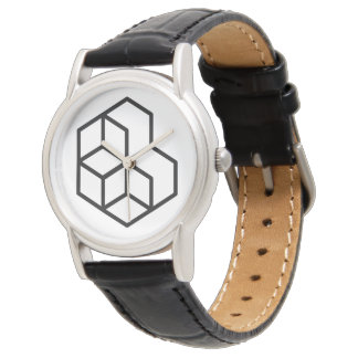 Horse (+) / Classic Black Leather Watch