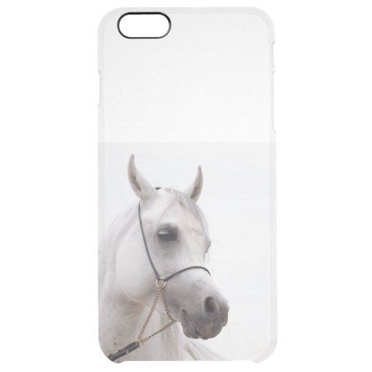horse collection. arabian white clear iPhone 6 plus