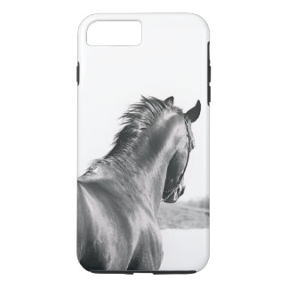 horse collection. B&W iPhone 8 Plus/7 Plus Case