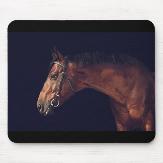 horse collection mouse mat