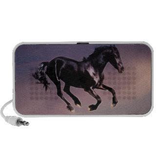 Horse dance at sunset laptop speaker