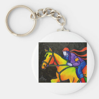 Horse Dashing Key Ring