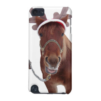 Horse deer - christmas horse - funny horse iPod touch (5th generation) covers