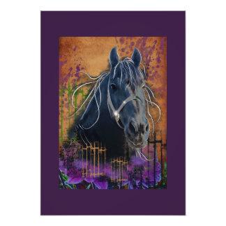 Horse DIAMOND portrait - Photo Print