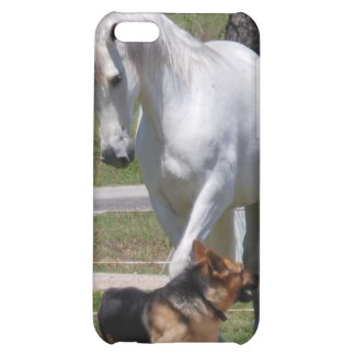 HORSE & DOG PLAY iPhone 5C COVERS
