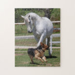 HORSE & DOG PLAY Puzzle