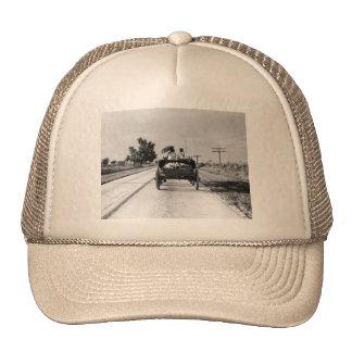 Horse drawn – 1938. mesh hats