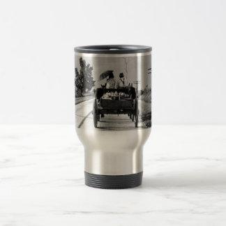 Horse drawn – 1938. coffee mug