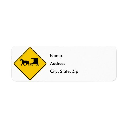 Horse-drawn Vehicle Traffic Highway Sign