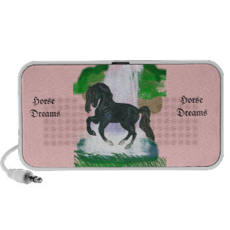 Horse Dreams Andalusian Horse  IPod Speaker