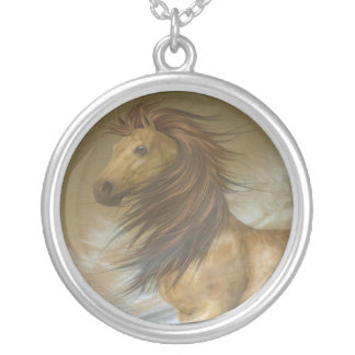 Horse Dreams Silver Plated Necklace
