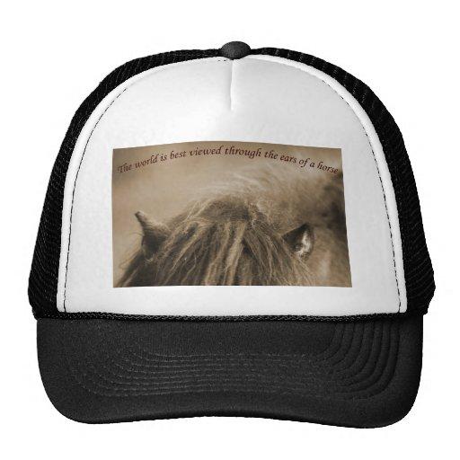 horse ears hats