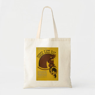 Horse Eats Hat - Edwin Denby - WPA Federal Theatre Tote Bag