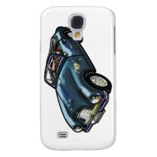 Horse Emblem on Classic Sports Car Galaxy S4 Case