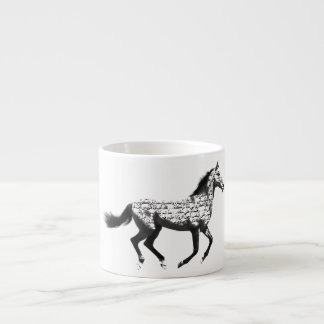 Horse Espresso Cup
